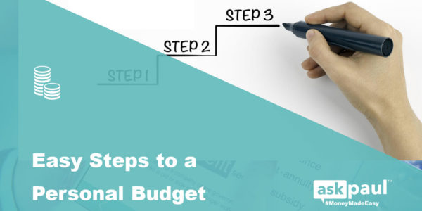 Easy Steps To A Personal Budget