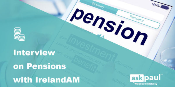 Interview on Pensions with IrelandAM