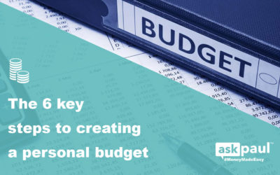 The 6 key steps to creating a personal budget in 2019