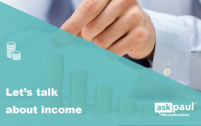 Let's talk about income